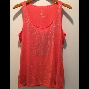 Tommy Bahama coral tank top
